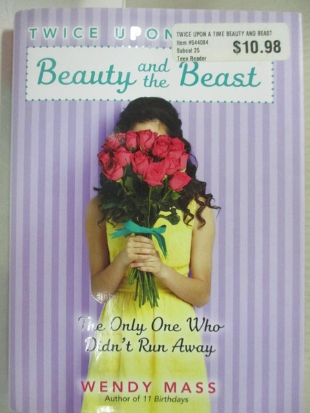 【書寶二手書T2/原文小說_DAJ】Beauty and the Beast: The Only One Who Didn't Run Away_Mass, Wendy
