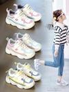 女童鞋 女童運動鞋兒童潮鞋子女童款新款女孩鞋爆款休閒鞋時尚 快速出货