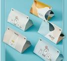 北歐ins網紅車載紙巾盒客廳抽紙盒家用創意輕奢皮革臥室可愛少女 小時光生活館