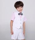 ♥ 俏魔女美人館 ♥  兒童禮服男童禮服套裝百天寶寶正裝西裝馬甲花童西裝套裝