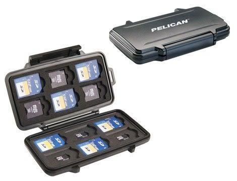 Pelican 0915 美國 塘鵝 SD / MINI SD / MICRO SD 記憶卡 收納盒 氣密防水盒 【公司貨】