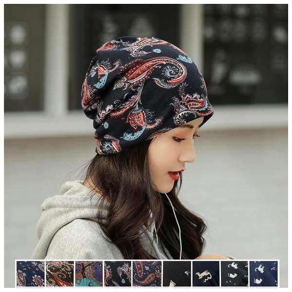 【南紡購物中心】韓系保暖多戴法包頭帽