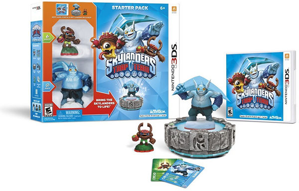 3DS Skylanders Trap Team Starter Pack(美版代購)