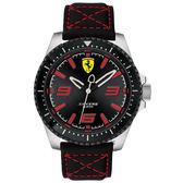 Scuderia Ferrari 法拉利 XX KERS 競速手錶-黑/45mm FA0830483