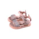 兒童鞋 涼鞋 小女生鞋 粉紅色 亮粉 小童 B9921 no191