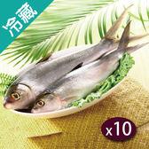 台灣虱目魚(500~600G/尾)X10【愛買冷藏】
