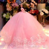 洋娃娃 娃娃套裝超大禮盒仿真單個婚紗公主女孩兒童洋娃娃節日禮物 『歐韓流行館』