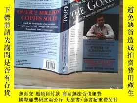 二手書博民逛書店英文原版罕見The Goal: A Process of Ong
