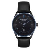 Kenneth Cole 悅簡時尚日期腕錶-KC50190005