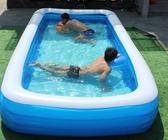 游泳池 兒童充氣游泳池家用成人超大號家庭大型加厚戶外浴缸小孩洗澡水池YYJ 伊莎gz