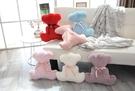 【6色】背影絲帶泰迪熊娃娃 玩偶 熊熊抱枕 聖誕節交換禮物 生日禮物 兒童節