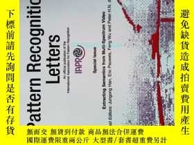 二手書博民逛書店Pattern罕見Recognition Letters 2013 01 1 模式識別原版學術期刊Y14610