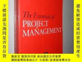 二手書博民逛書店Essentials罕見of Project Managemen