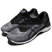 【六折特賣】Asics 慢跑鞋 GT-2000 6 灰 黑 回彈吸震 男鞋 運動鞋 【PUMP306】 T805N1190