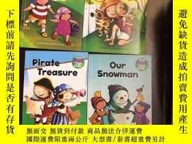 二手書博民逛書店A罕見Sunny Day,Pirate Treasure, The Explorers, Our Snowman