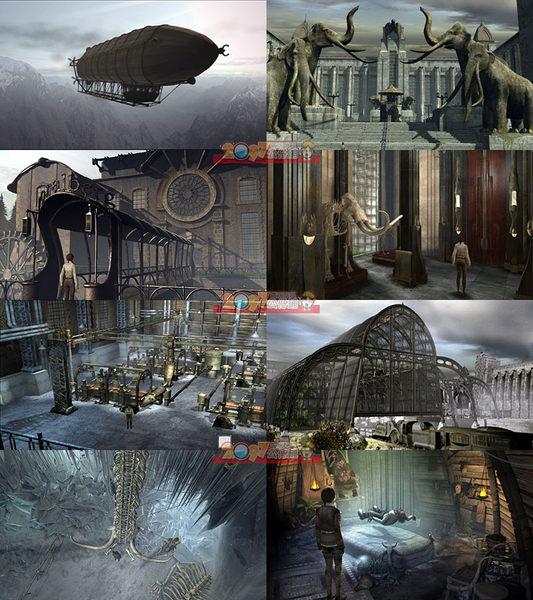PS3 西伯利亞1+2合輯(劇情益智機關解謎) -英文版- Syberia Collection