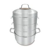 丹露多功能不鏽鋼蒸籠湯鍋組-S304-275-5P