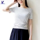 【春夏新品】American Bluedeer - 坑條條紋上衣 二色 春夏新款