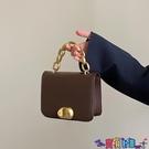 小方包 小眾設計包女斜背包包2021新款潮復古小方包百搭手提鍊條包寶貝計畫 上新