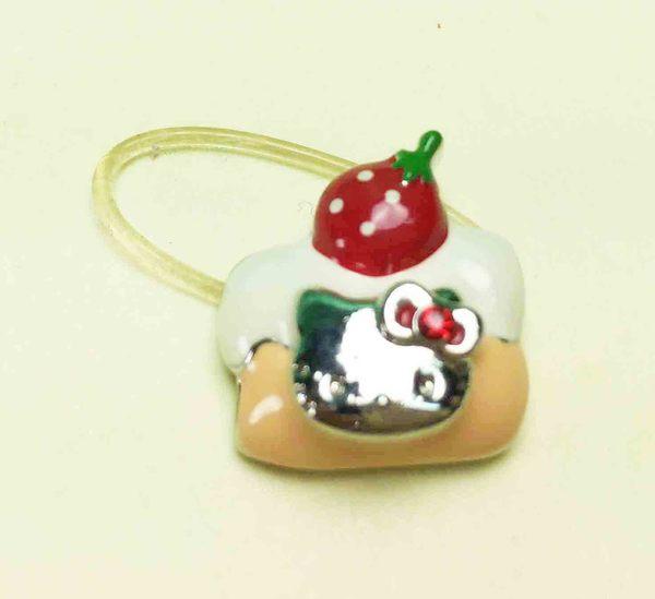 【震撼精品百貨】Hello Kitty 凱蒂貓~造型戒指-蛋糕