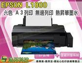EPSON L1800 A3原廠連續供墨印表機【熱昇華墨水】PlIE09-02