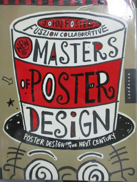 【書寶二手書T2/設計_YHC】New Masters of Poster Design_Foster, John