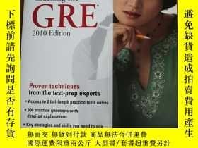 二手書博民逛書店Cracking罕見the GRE, 2010 Edition