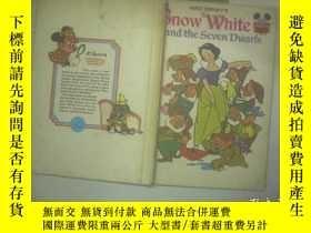 二手書博民逛書店SNOW罕見WHITE AND THE SEVEN DWARFS
