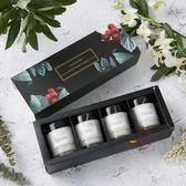 進口精油香氛安神助眠無煙宜家蠟燭伴手禮生日禮物香薰蠟燭禮盒