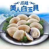 【食在鮮味】野生捕撈新鮮熟凍大白玉蛤 超值12件組