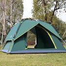 ✭米菈生活館✭【I03】旋壓式全自動帳篷 雙層 戶外 裝備 雙人 野營 快速 4-6人 家庭 海邊 草地