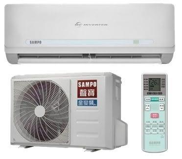 ↙0利率↙SAMPO 聲寶 *約13-16坪* 變頻冷暖分離式冷氣AU-QC80DC/AM-QC80DC【南霸天電器百貨】