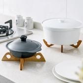 防燙墊隔熱墊竹創意餐桌墊子廚房砂鍋置物架