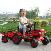 【618好康又一發】兒童大號仿真電動腳蹬可坐可騎四輪拖拉機