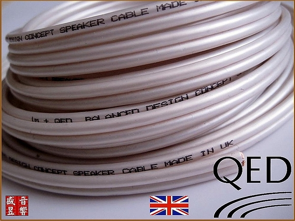 門市有現貨 - 英國製 QED performance original 喇叭線 5米 【Made in UK】公司貨