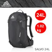 【速捷戶外】美國GREGORY 91596 SALVO 24L 男款專業網架式登山背包(黑)  ,健行背包 ,登山背包