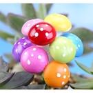 CARMO彩色泡沫蘑菇花插微景觀(5入) 多肉裝飾【A012002】
