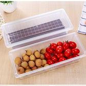廚房用品 冰箱防潮瀝水收納盒 蔬菜水果 【KFS294】收納女王