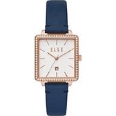 【ELLE】/雅典時尚方錶(男錶 女錶 Watch)/ELL21024/台灣總代理原廠公司貨兩年保固