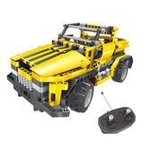 兼容樂高積木拼裝模型組裝電動遙控汽車男孩子益智6-12歲兒童玩具 BF5085『寶貝兒童裝』