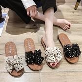 拖鞋女外穿ins潮2021年夏新款平底孕婦時尚網紅百搭沙灘涼鞋涼拖 「雙10特惠」