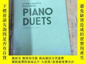 二手書博民逛書店EVERYBODY S罕見FAVORITE PIANO DUET