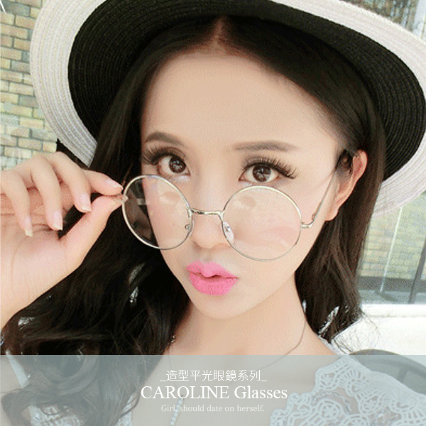 《Caroline》年度最新款造型時尚品味、氣質、時尚平光眼鏡 71992