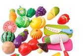 仿真過家家切切看切切樂切水果蔬菜玩具兒童益智廚房玩具套裝 店慶一周 限時八折鉅惠