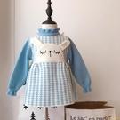 洋裝女童3歲5可愛卡通針織連身衣裙女孩寶寶春秋款毛衣裙公主裙【小獅子】