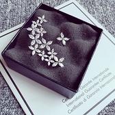耳環 925純銀鑲鑽-優質名媛生日情人節禮物女耳飾73du24【時尚巴黎】