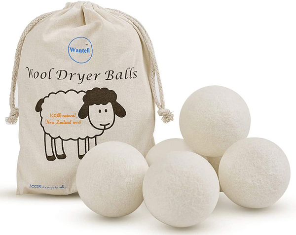 [2美國直購] New Zealand wool. 羊毛烘衣靜電球烘乾機球 6-Pack XL Premium 100% Wool Dryer Balls