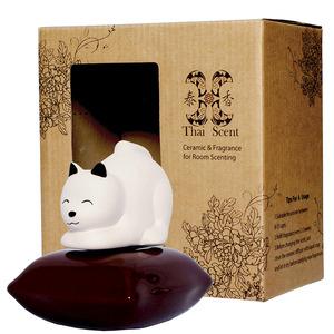 ThaiScent泰香 可可狗擴香精禮盒白色茉莉