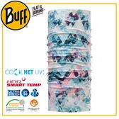 【BUFF 西班牙 Coolnet 抗UV頭巾 水色幻想】119380/圍脖/帽子/口罩/圍巾/吸溼排汗