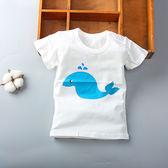 618好康鉅惠夏季寶寶男嬰兒上衣短袖t恤幼兒夏裝純棉半袖